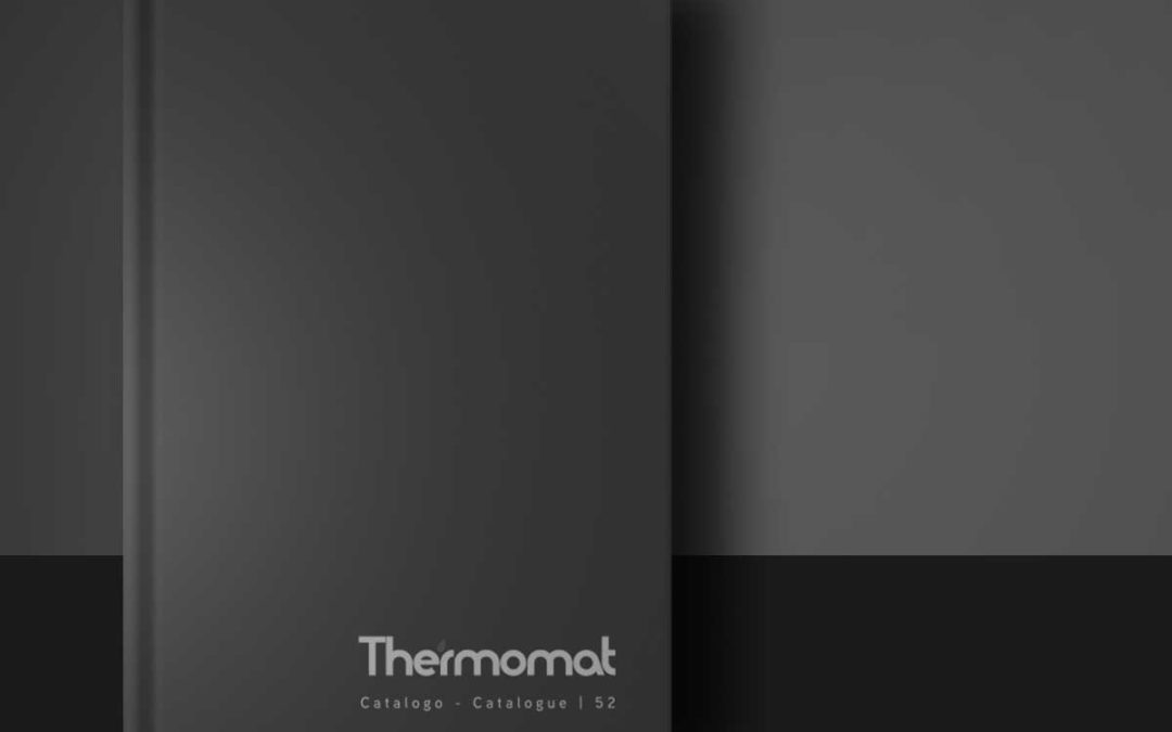 Thermomat: festeggiamo i 52 anni di attività con la 52° esima edizione del catalogo.