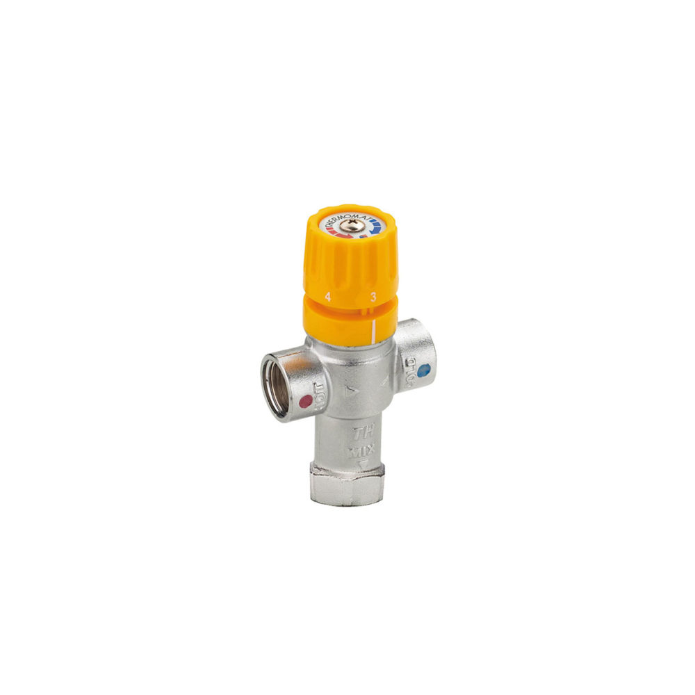 Mix Solar thermostatic valves for solar panel