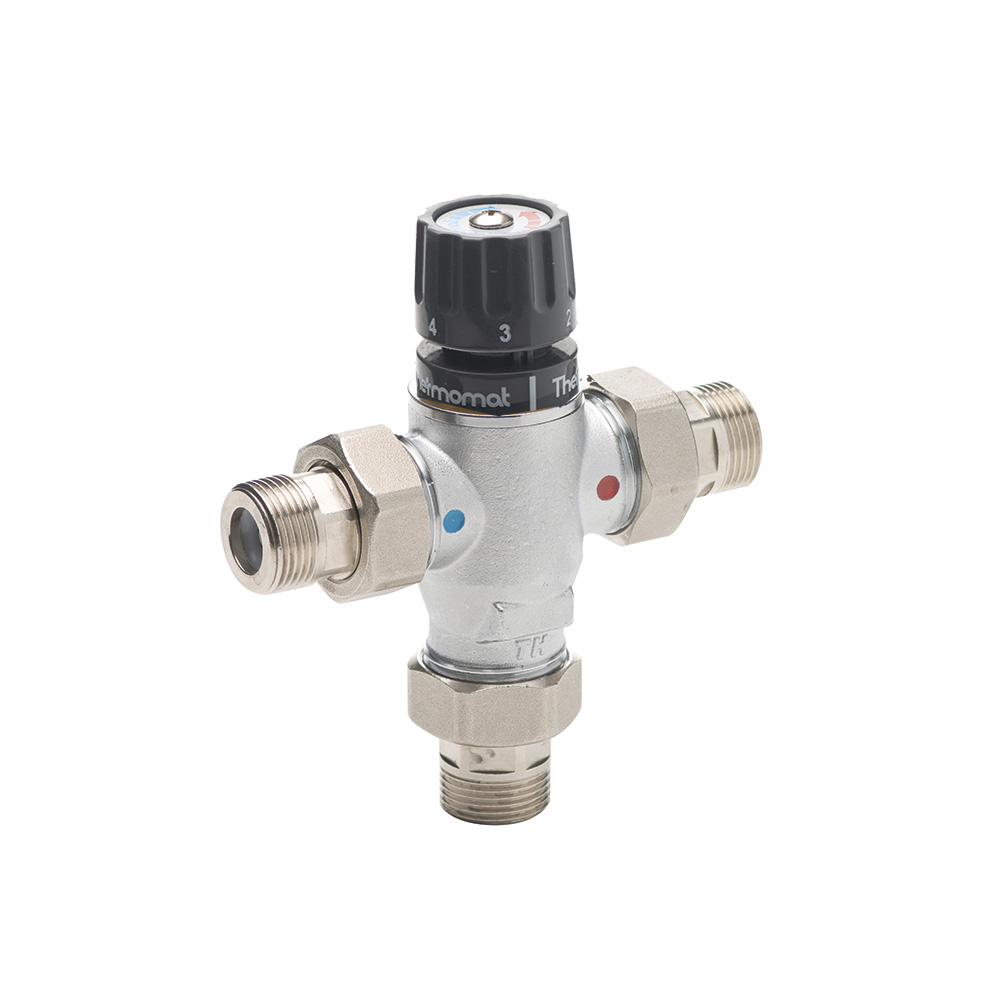 Thermostatic valves with unions B