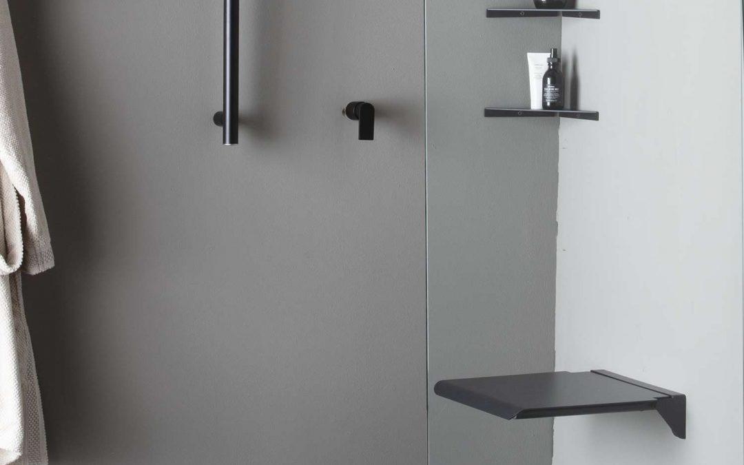 Un sedile doccia ribaltabile regala accessibilità: Elegance